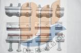 Kẹp cáp xử lý đồng nhôm AM 1BL : 2BL : 3BL ; 25 - 95 MM
