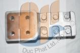 Thẻ bài xử lý đồng nhôm 120 - 400 MM